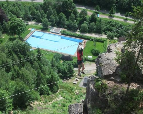 Klettersteig Todtnau : Todtnauer klettersteig m youtube